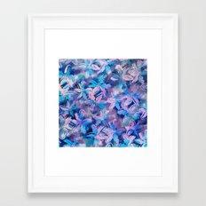 Squill Field Framed Art Print