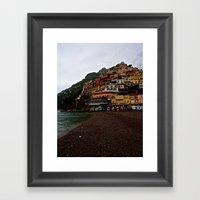Positano: Amalfi Coast, … Framed Art Print