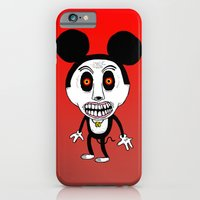 iPhone & iPod Case featuring Weird Mickey by NIXA