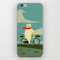 Yeti Taking A Ride iPhone & iPod Skin