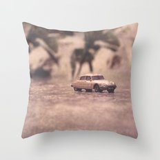 Julians Journey 6 | in the midst of the storm Throw Pillow