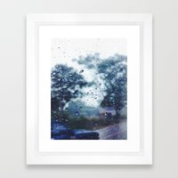 Way Back To Reality Framed Art Print