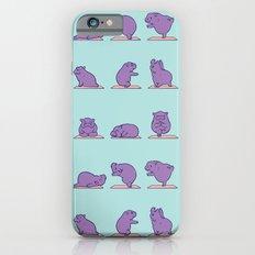 Baby Hippo Yoga iPhone 6 Slim Case
