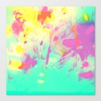 abstract 001. Canvas Print