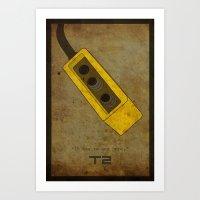 Alternative Terminator 2… Art Print