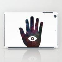 Cosmic hand iPad Case