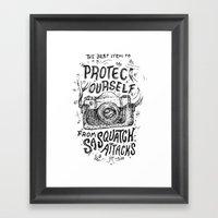 The Best Item Framed Art Print