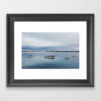 Morning Calm Framed Art Print