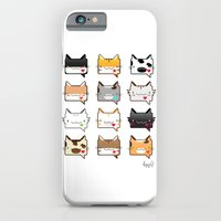 iPhone & iPod Case featuring Convo Cats! by NearlyFarley