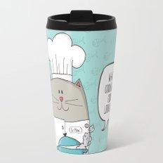 Chef cat, chef hat, ZWD009S6 Travel Mug