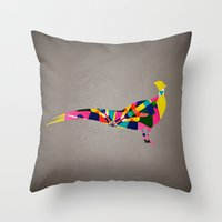 Pheasant Throw Pillow