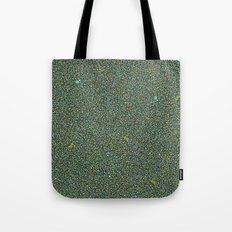 Blue/Green Dot Color Design Tote Bag