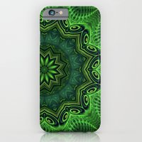 iPhone & iPod Case featuring Harmony in Green by Lyle Hatch