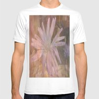 Misty Mauve Mens Fitted Tee White SMALL