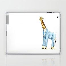 Giraffe in suit Laptop & iPad Skin