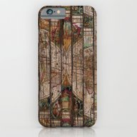 Encrypted Map iPhone 6 Slim Case