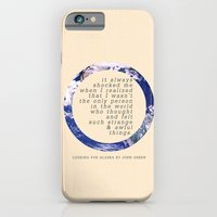 iPhone & iPod Case featuring Alaska by Sarah Turbin