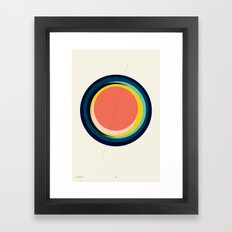 Future Globes 003 — Matthew Korbel-Bowers Framed Art Print