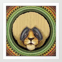 Ital Lion Art Print