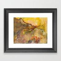 Hurricane Pass Framed Art Print
