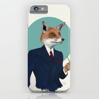 iPhone & iPod Case featuring Mr. Fox by FAMOUS WHEN DEAD