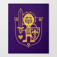 Castle Mama Crest Canvas Print