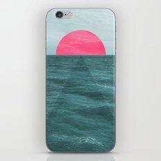 Magenta Sunset iPhone & iPod Skin