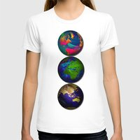 As The World Turns Womens Fitted Tee White SMALL