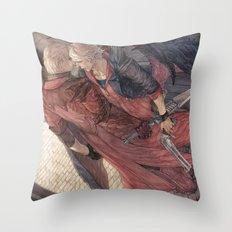 Trigger of Thymia Throw Pillow