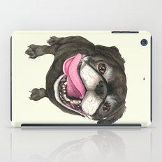 Black Pug Dog iPad Case