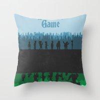 Futurama - Bender's Game Throw Pillow