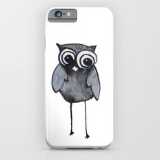 The Friendly Owl - White Background iPhone 6 Slim Case