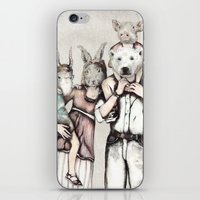Family iPhone & iPod Skin