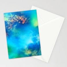 Cosmic Clouds In Blue Stationery Cards