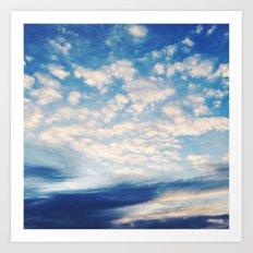 Sound of Clouds Art Print