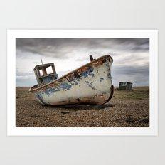 The Trawler, Dungeness, Kent Art Print
