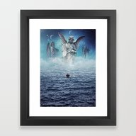 Framed Art Print featuring Path Of Redemption by Seamless