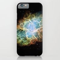 "iPhone Cases featuring ""Crab Nebula"" Taurus by Planet Prints"