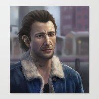 Sam Drake Canvas Print