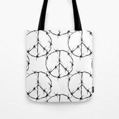Peace Simbol Tote Bag