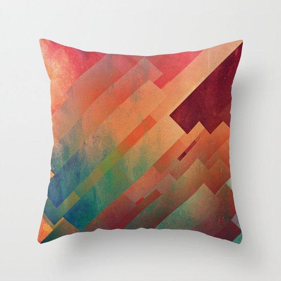 slyb ynvyrtz Throw Pillow