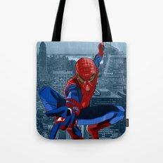 Amazing Spider-Man (Film Title) Tote Bag