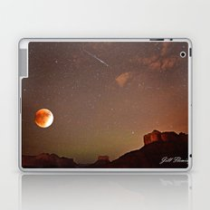 Sedona Blood Moon Eclipse with Shooting Star Laptop & iPad Skin