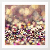 Rainbow Sprinkles - An A… Art Print