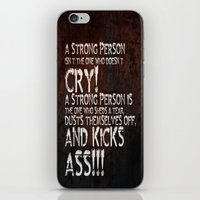 KICK ASS! iPhone & iPod Skin