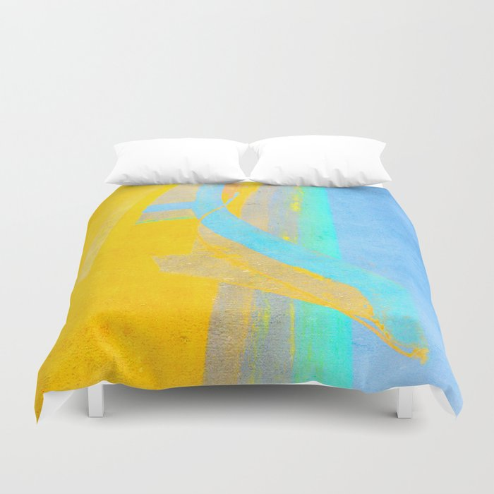 meaning duvet cover by fernando vieira society6. Black Bedroom Furniture Sets. Home Design Ideas