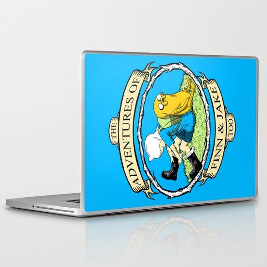The Adventures of Finn & Jake, Too Laptop & iPad Skin