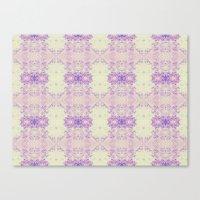 Fuzzy Kaleidoscope Canvas Print