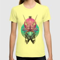 Ronin Womens Fitted Tee Lemon SMALL