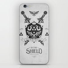 Legend of Zelda - The Hylian Shield Foundry iPhone & iPod Skin